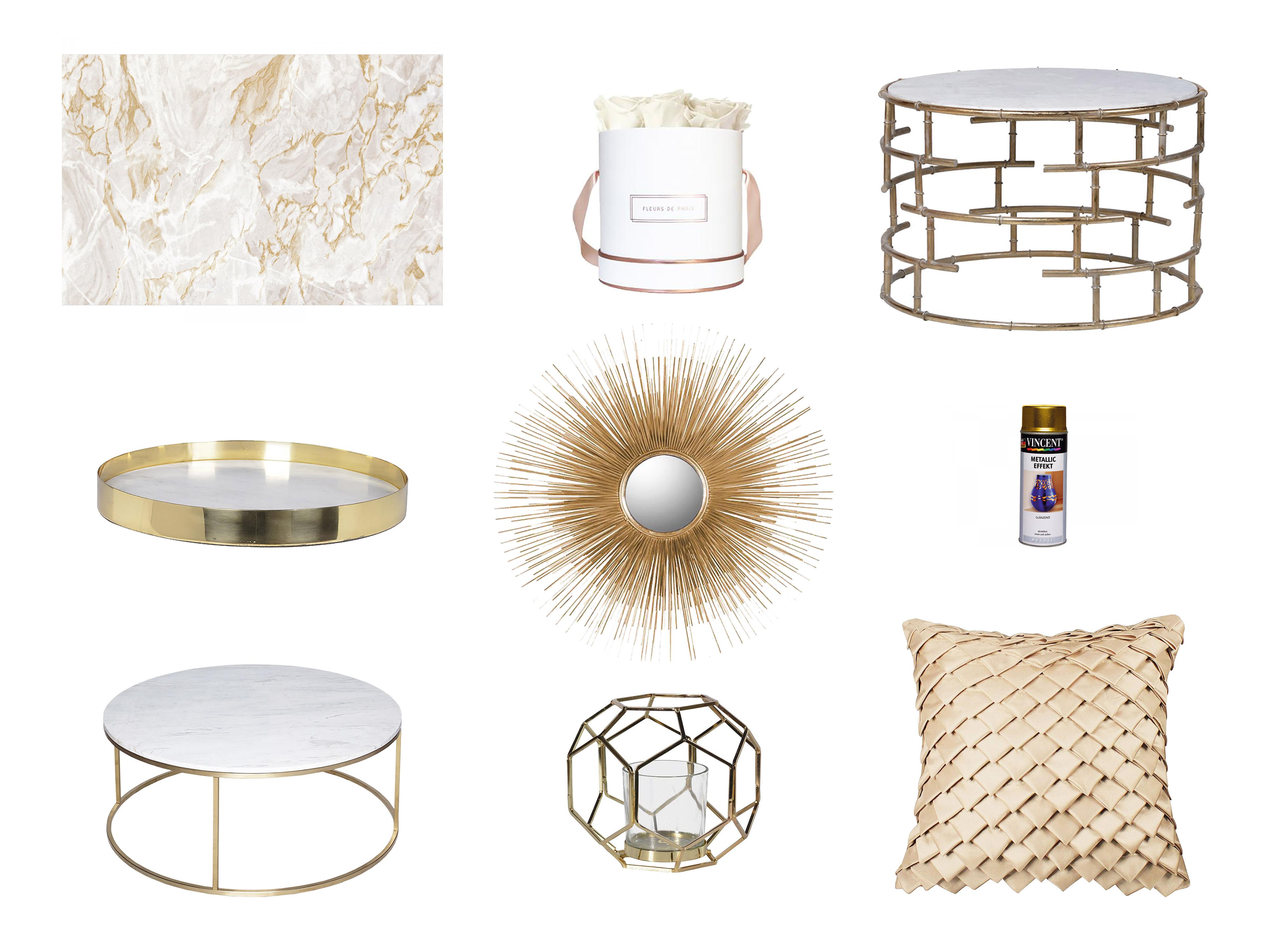 Wohntrend GOLD -Key Pieces für das Wohnzimmer | | Adita Kara
